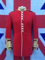 # A OFFICERS GUARDSMANS TUNIC..ALL GRADES AVAILABLE.. STARTING AT £150
